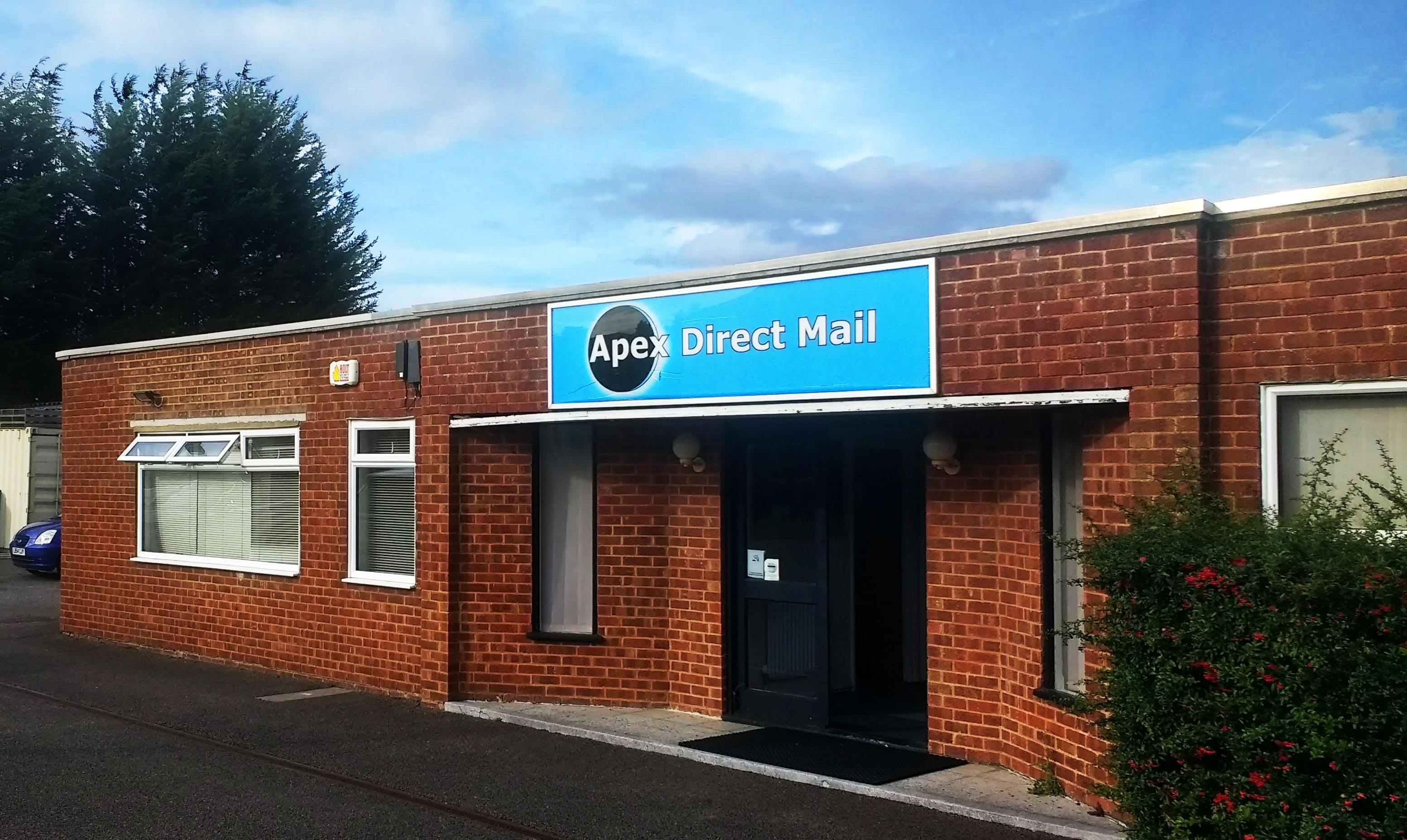 our building apex direct mail